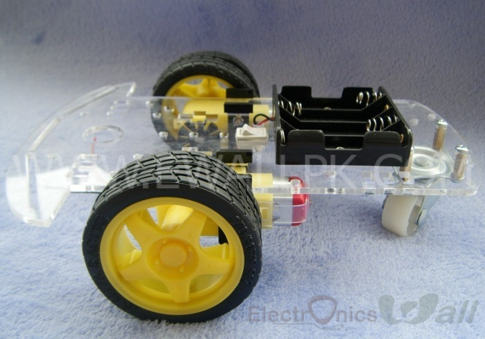 2WD 3 wheel Robotic Smart Car Chassis (Best Quality)