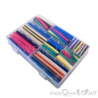 Heat shrink Tubes 7 Colors 9 Sizes 392pcs