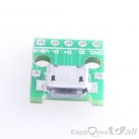 MICRO USB to DIP Adapter 5pin Female Connector B Type