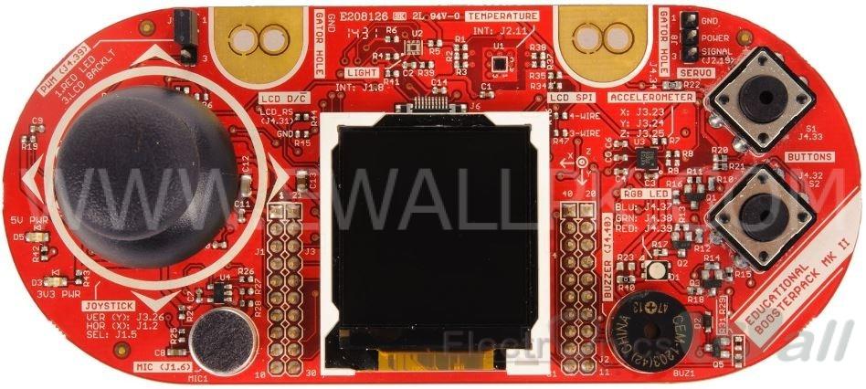 Educational Booster Pack MKII - BOOSTXL-EDUMKII - TI