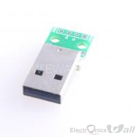Male A-USB to DIP Pinboard 4-Pin 2.54 2.54mm