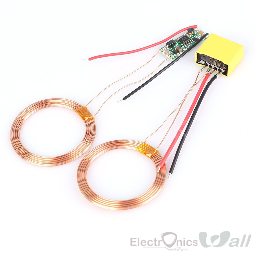 5V Wireless Charging Module Coil (Transmitter/Receiver)