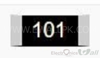 100 0805 SMD Resistor( 20pcs packet)