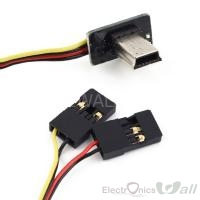 Video and Power Cable for GoPro HERO USB Connector (90 Degree)