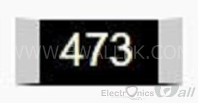 47K 0805 SMD Resistor( 20pcs packet)