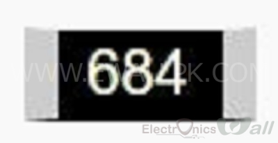 680K 0805 SMD Resistor( 20pcs packet)