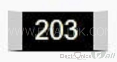 20K 0805 SMD Resistor( 20pcs packet