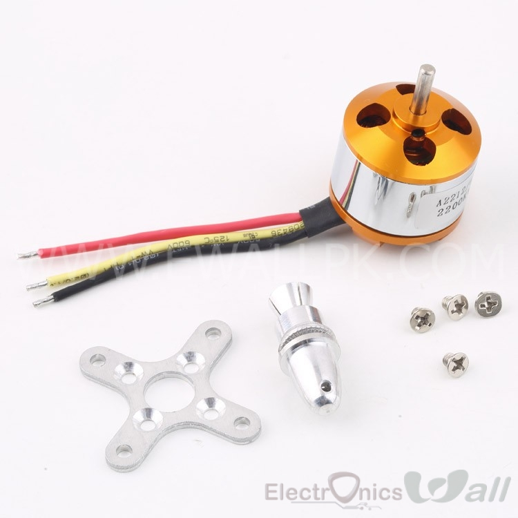 A2212/6T 2200kv RC Brushless Motor
