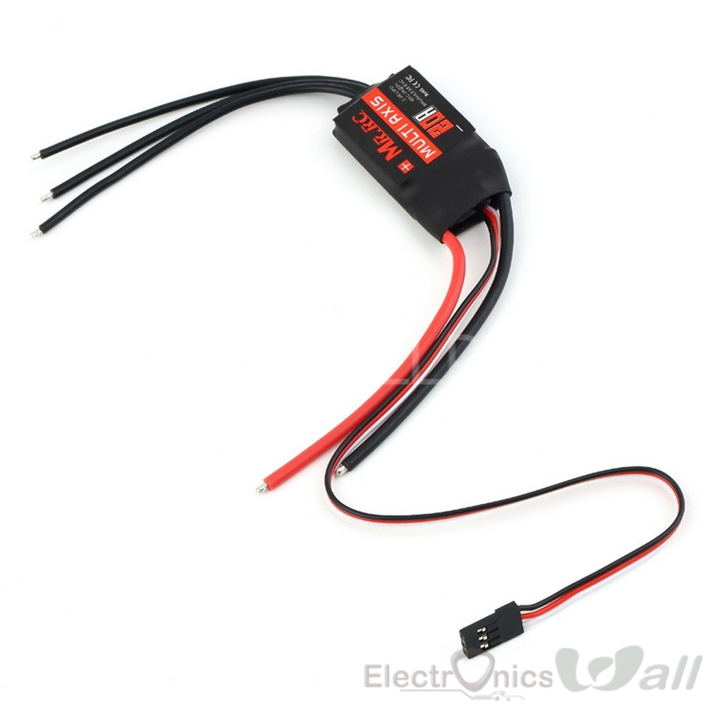 40A MR.RC Brushless ESC Speed Controller