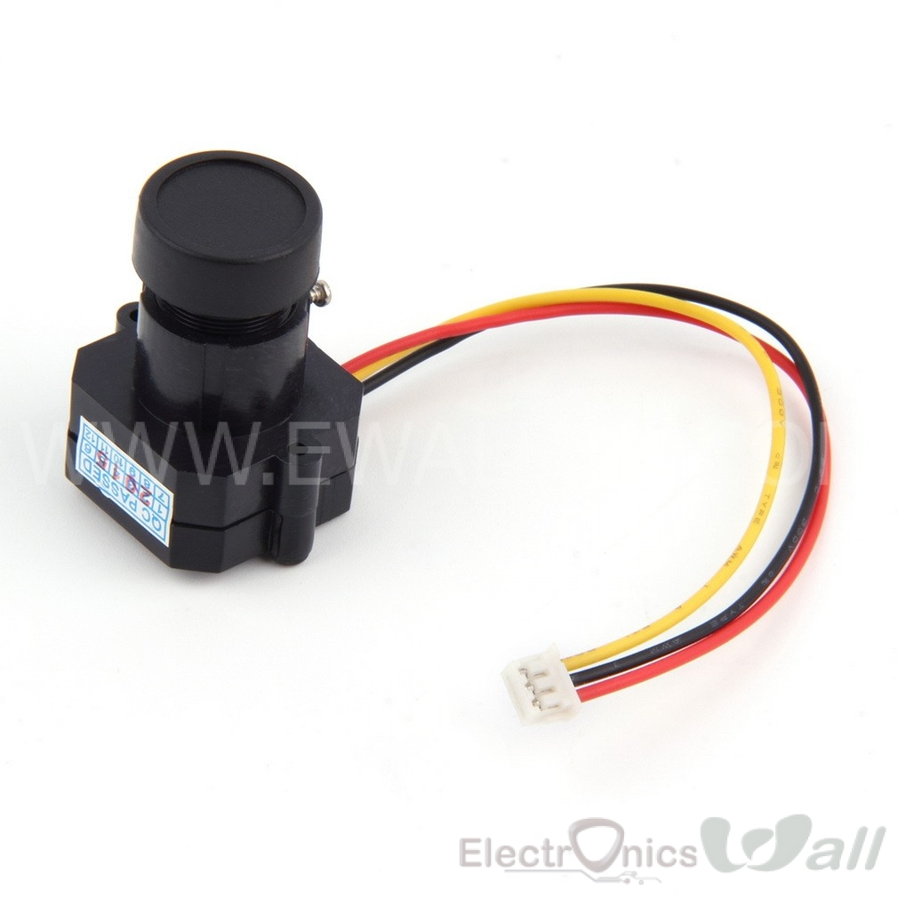 Mini 600TVL CMOS 1/3 Inch FPV Color Camera 11g Light Weight