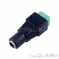 Female DC Power Plug Jack 5.5mm x 2.1mm