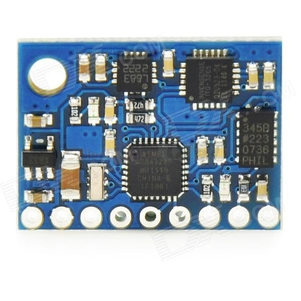 GY-951 9DOF IMU WITH ON-BOARD ATMEGA328 MODULE(ITG3205 + ADXL345 + HMC5883L + ATMEGA328)