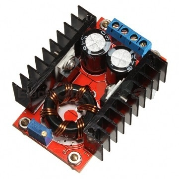 Adjustable Boost /Step up Converter Module 150W, 10-32V to 12-35V (dc to dc)