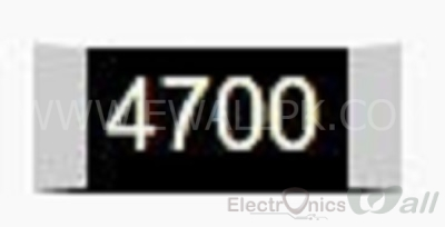470 0805 SMD Resistor( 20pcs packet)