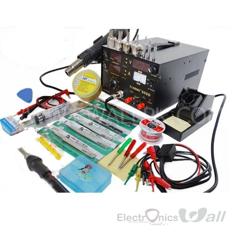 3 in 1 Power Supply and Complete SMT Soldering Station