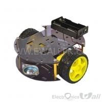 2 Wheel Wolo Round Robotic Smart Car Chassis for Arduino