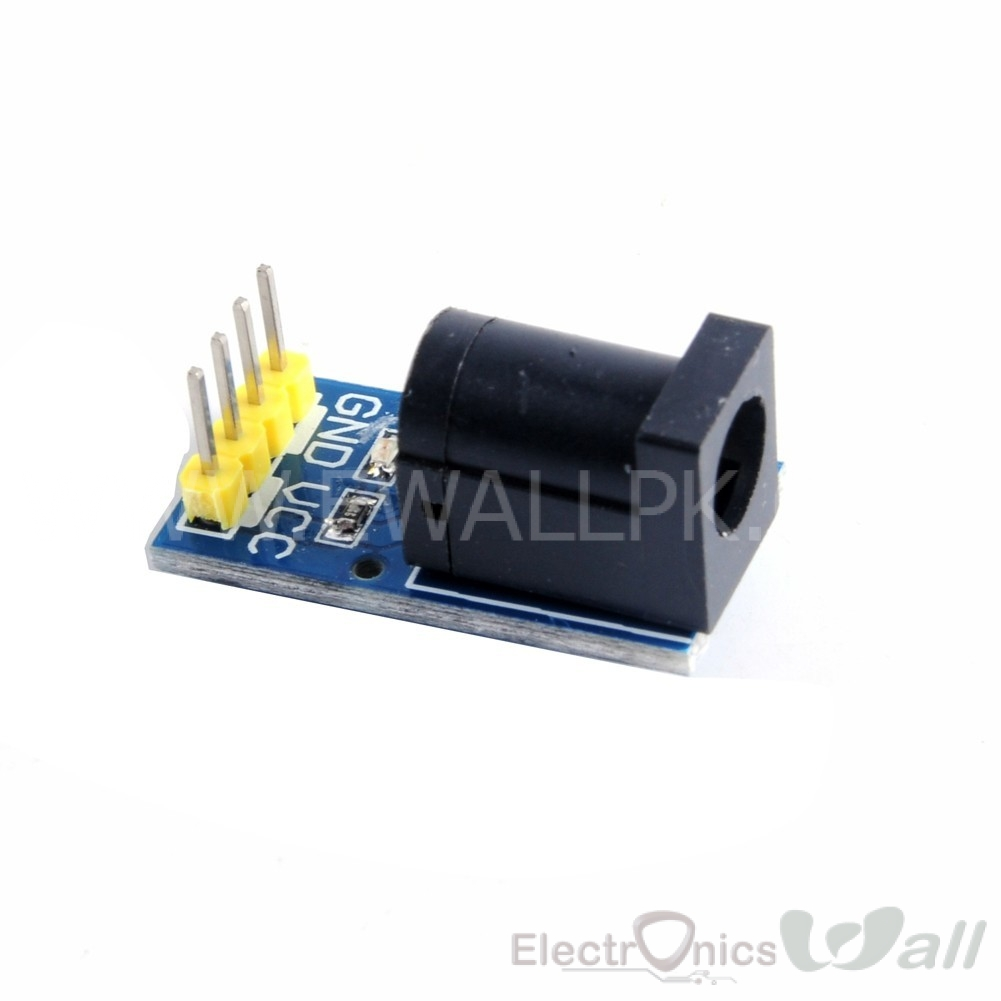 DC Power Socket Module with LED Indicator 5.5*2.1mm