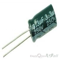 Capacitor 3.3uF 50v ( 10pcs packet)