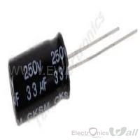 Capacitor 33uF 25v ( 10pcs packet)