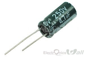 Capacitor 4.7uF 50v ( 10pcs packet)