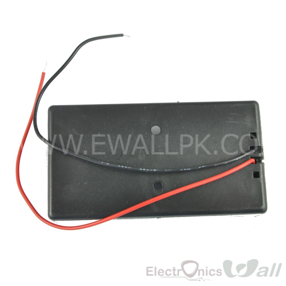 7.4V Dual Cell 18650 Lithium Battery Case